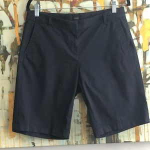 J Crew Navy Lightweight Bermuda Short